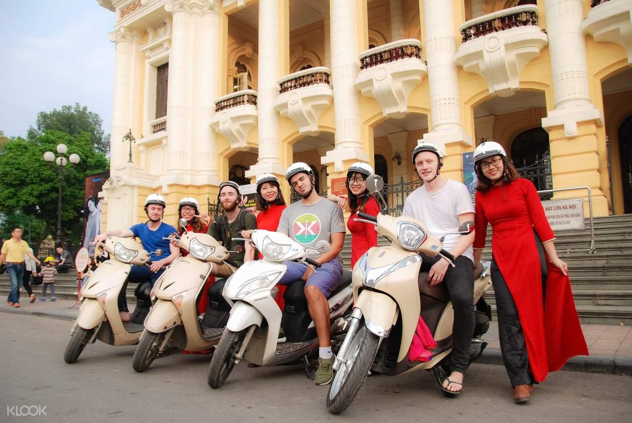 河內摩托車觀光之旅