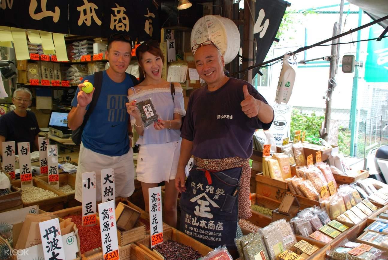 東京築地市場,駐地市場觀光,駐地市場半日遊