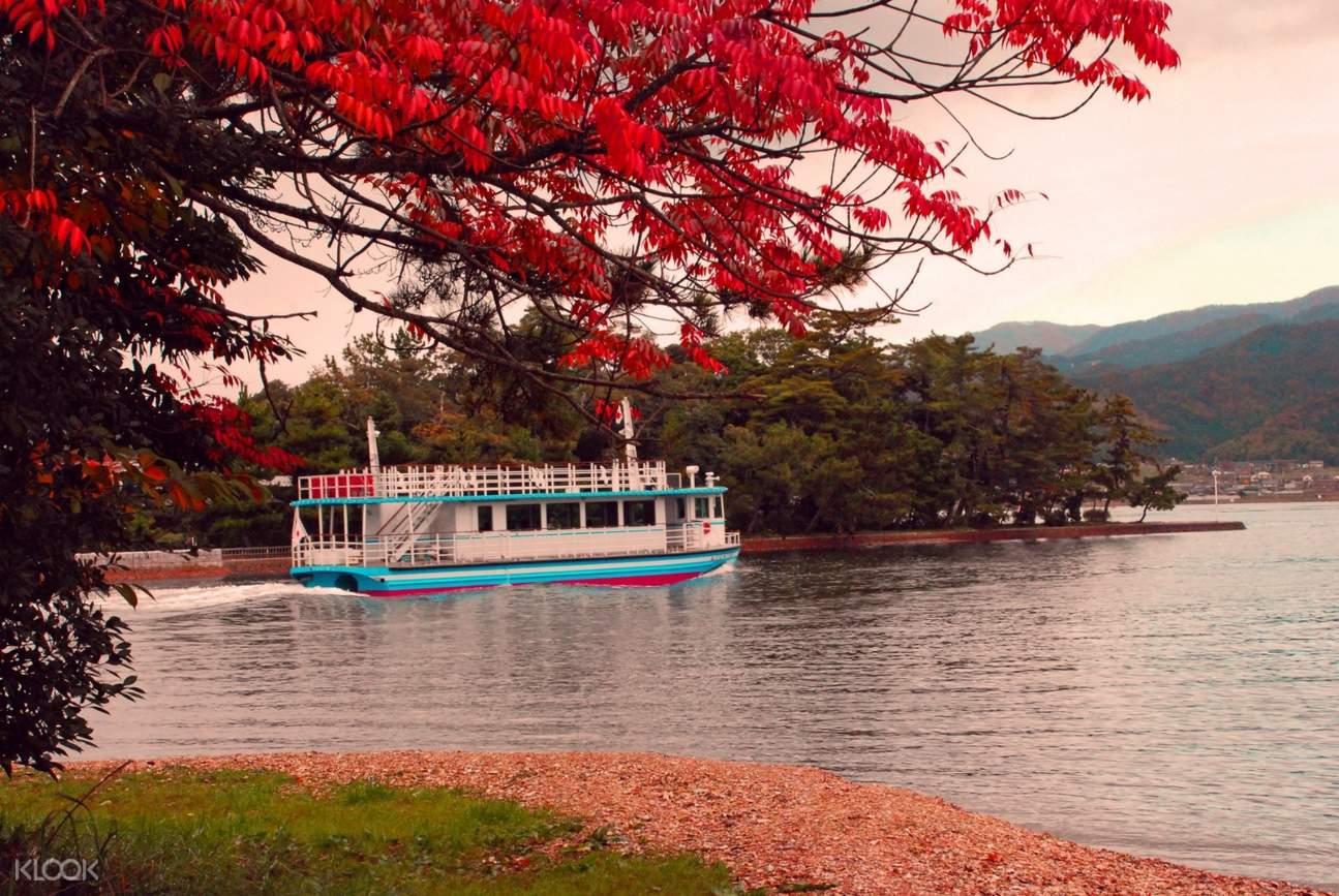 afternoon amanohashidate boat tour