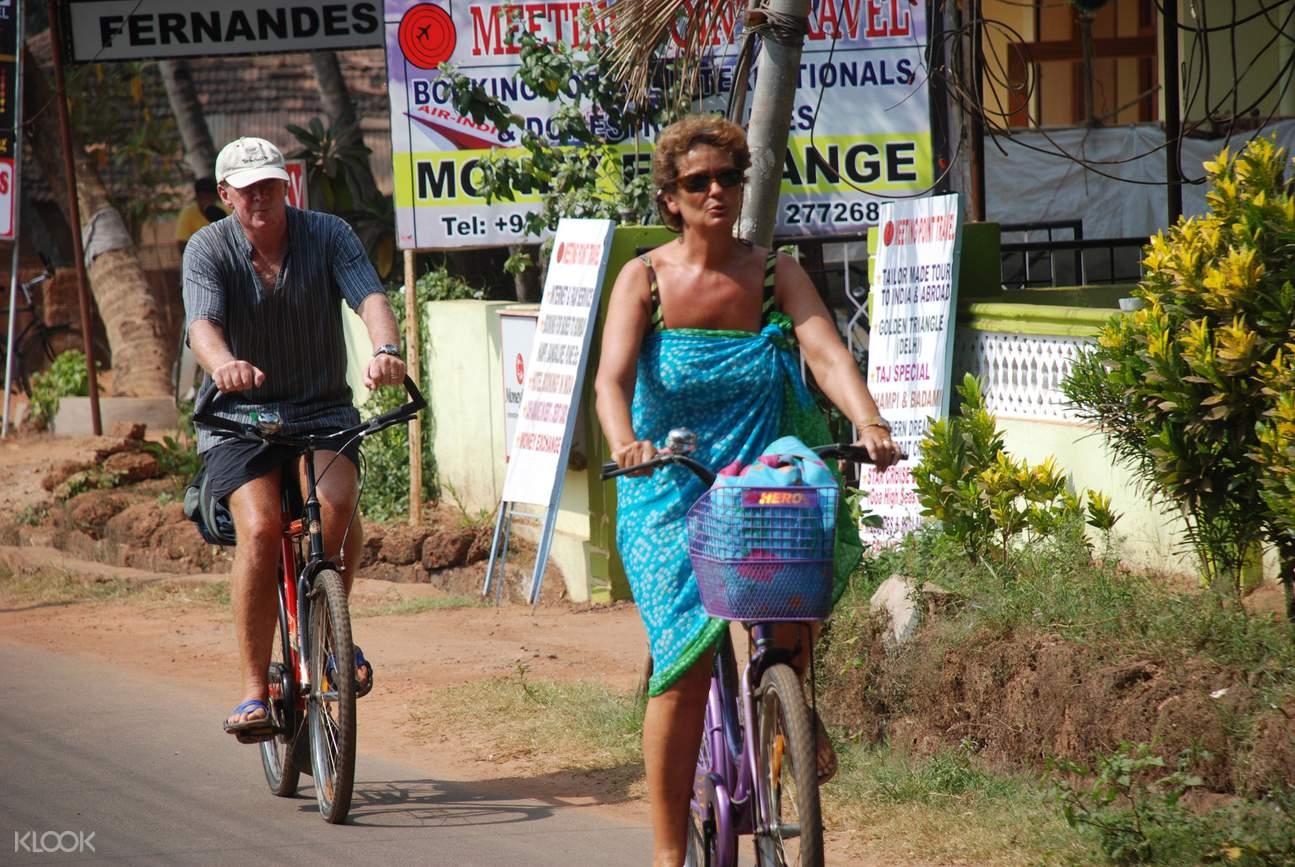cycling tour goa