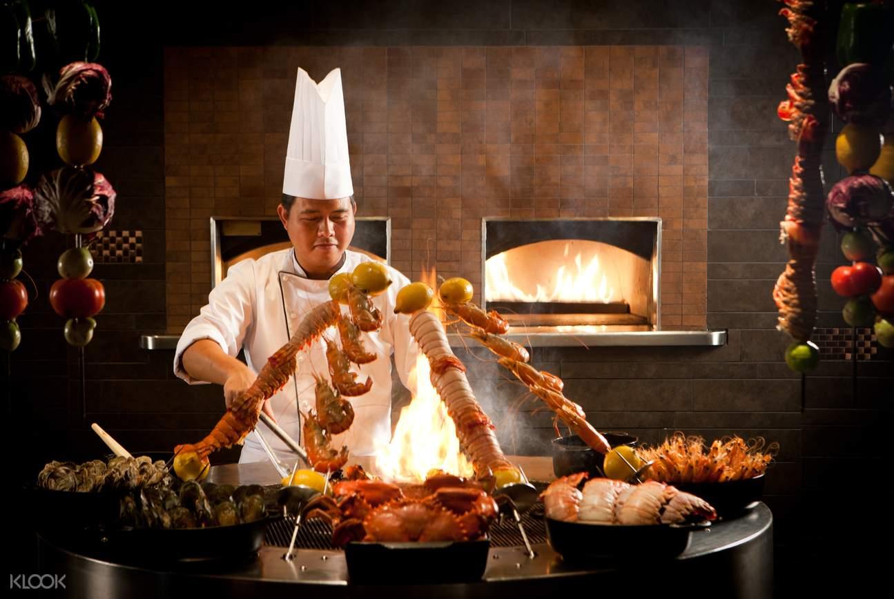 迪拜自助餐,迪拜藏红花自助餐,迪拜藏红花餐厅,迪拜亚特兰蒂斯自助餐