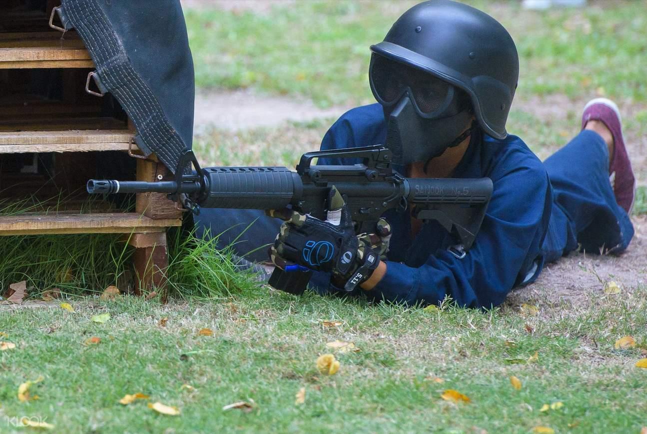芭堤雅Sanook公園氣槍射擊體驗