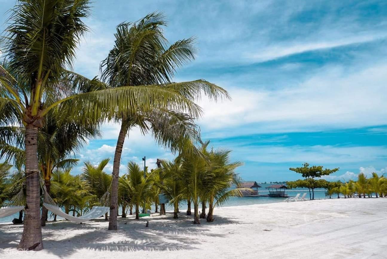 Solea Mactan's beachfront area