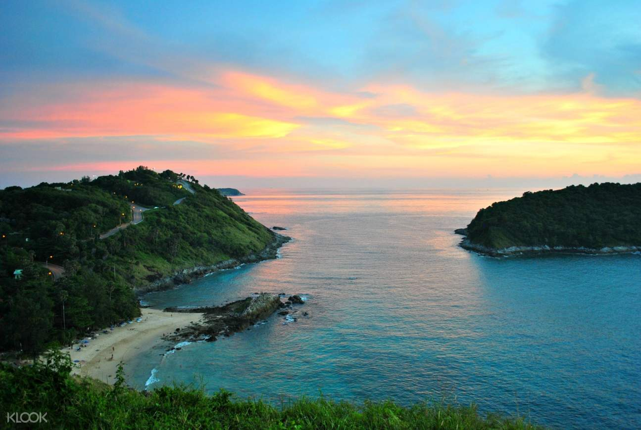 view of the sea in phuket
