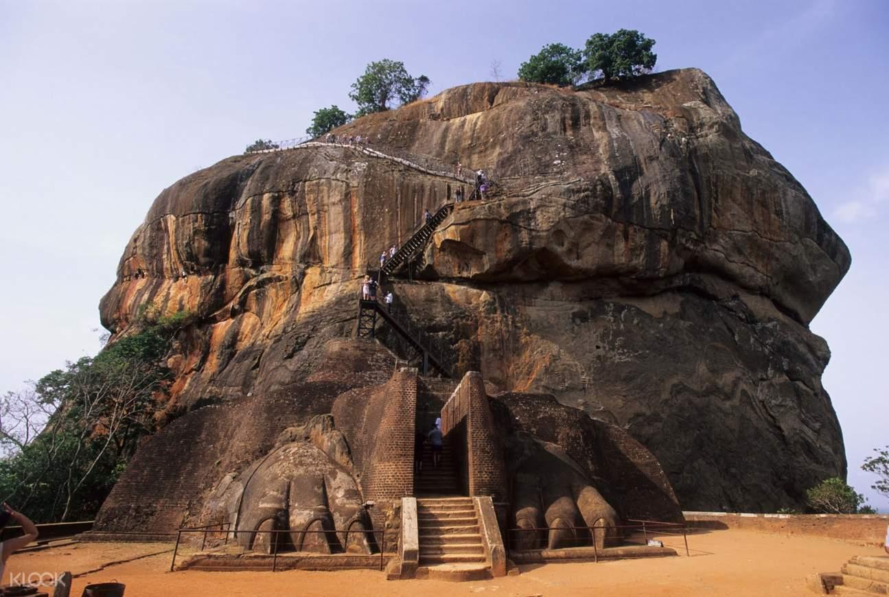 斯里兰卡 锡吉里耶 狮子岩