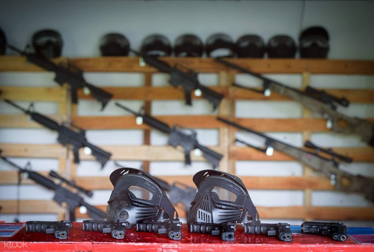 芭堤雅Sanook公园气枪射击体验
