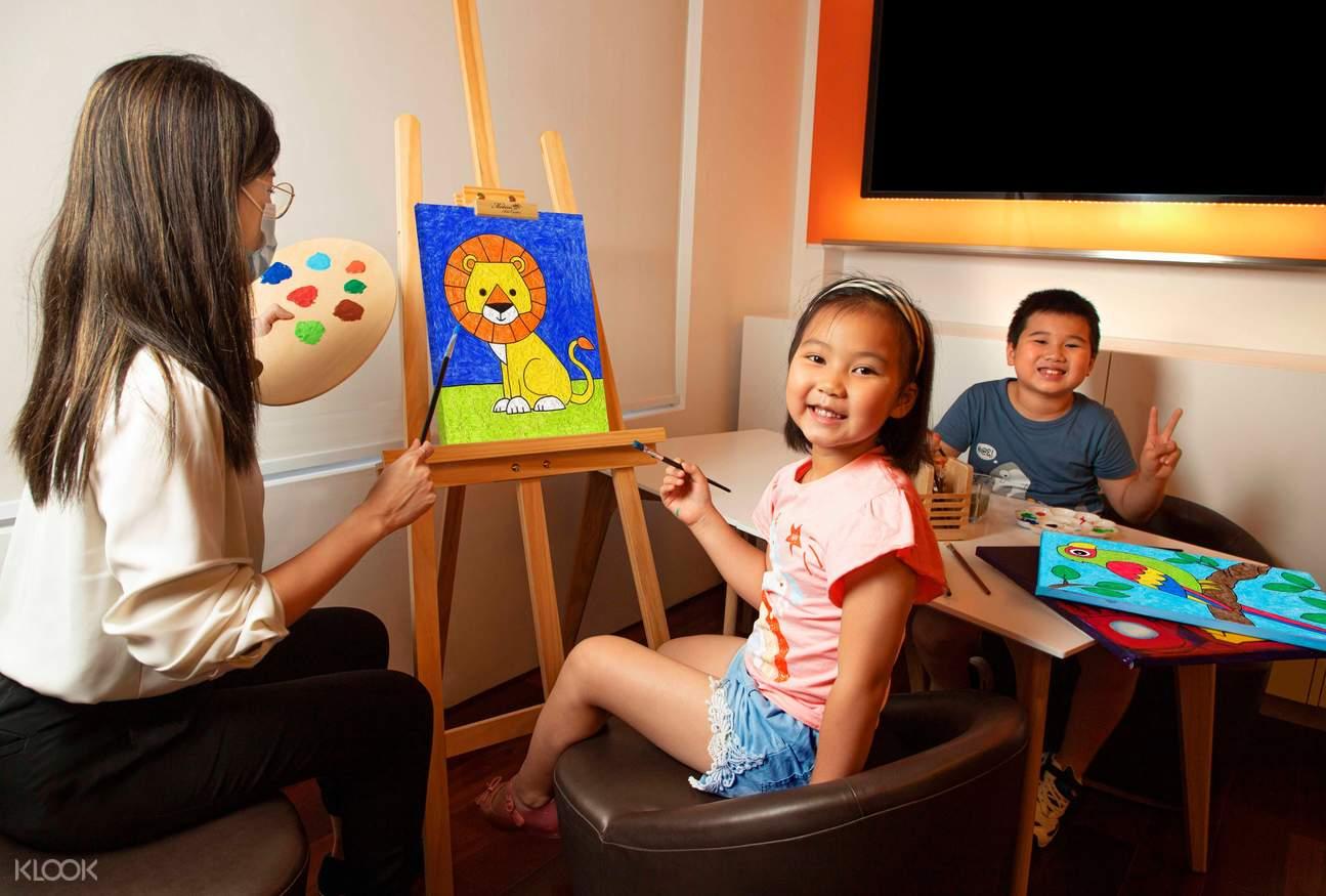週末兒童繪畫班