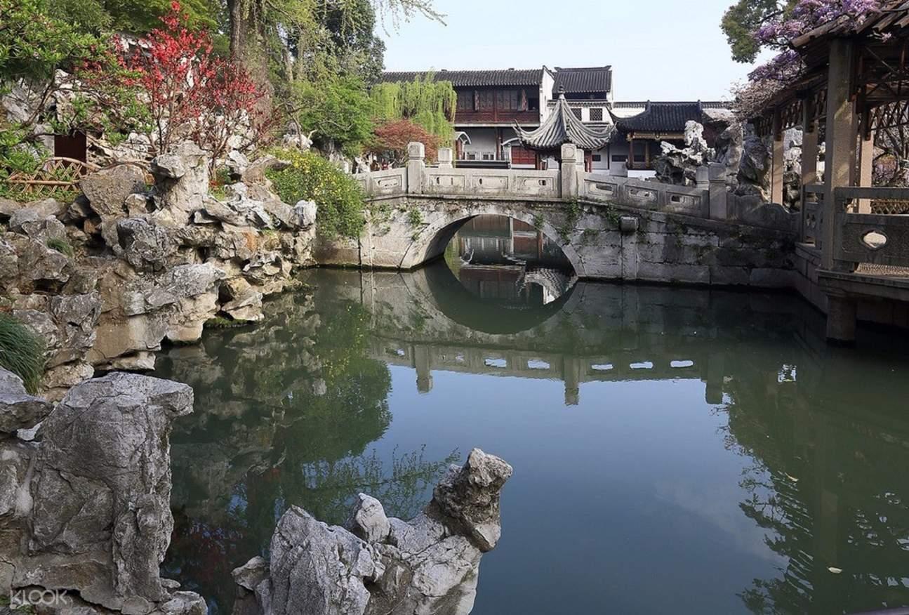 lion grove garden admission ticket suzhou
