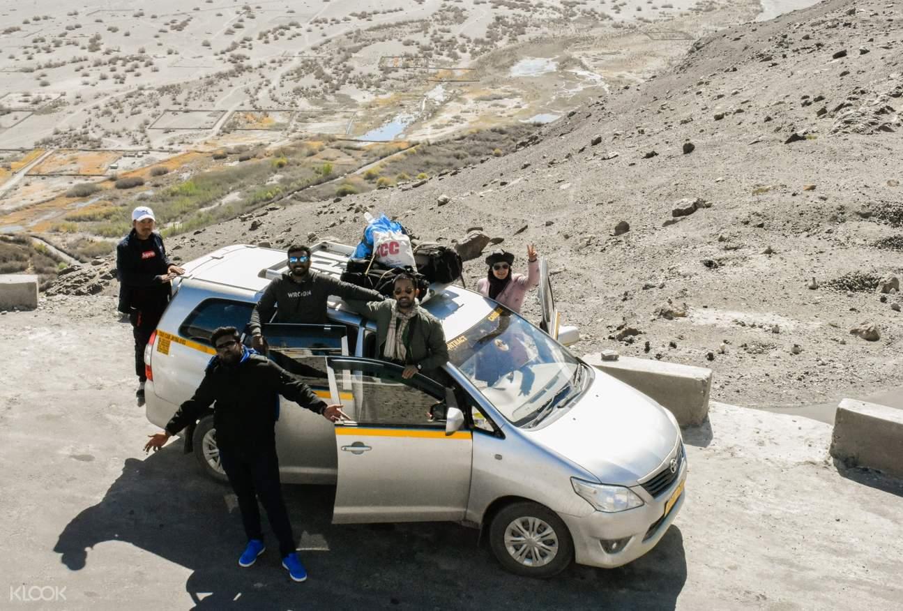 tour group of tripver leh ladakh