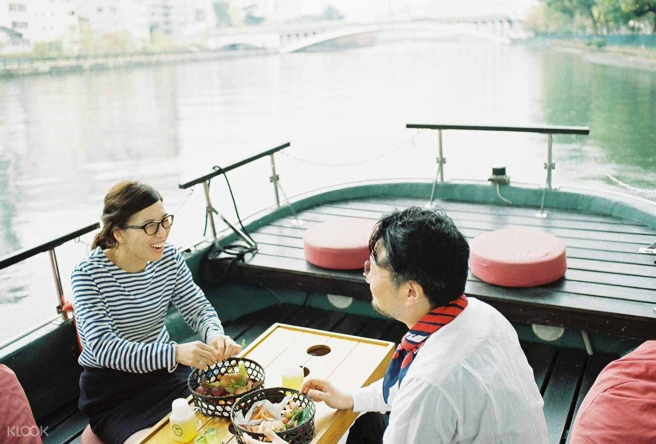 大阪遊船,大阪早餐,大阪觀光,大阪遊船觀光,大阪特色體驗