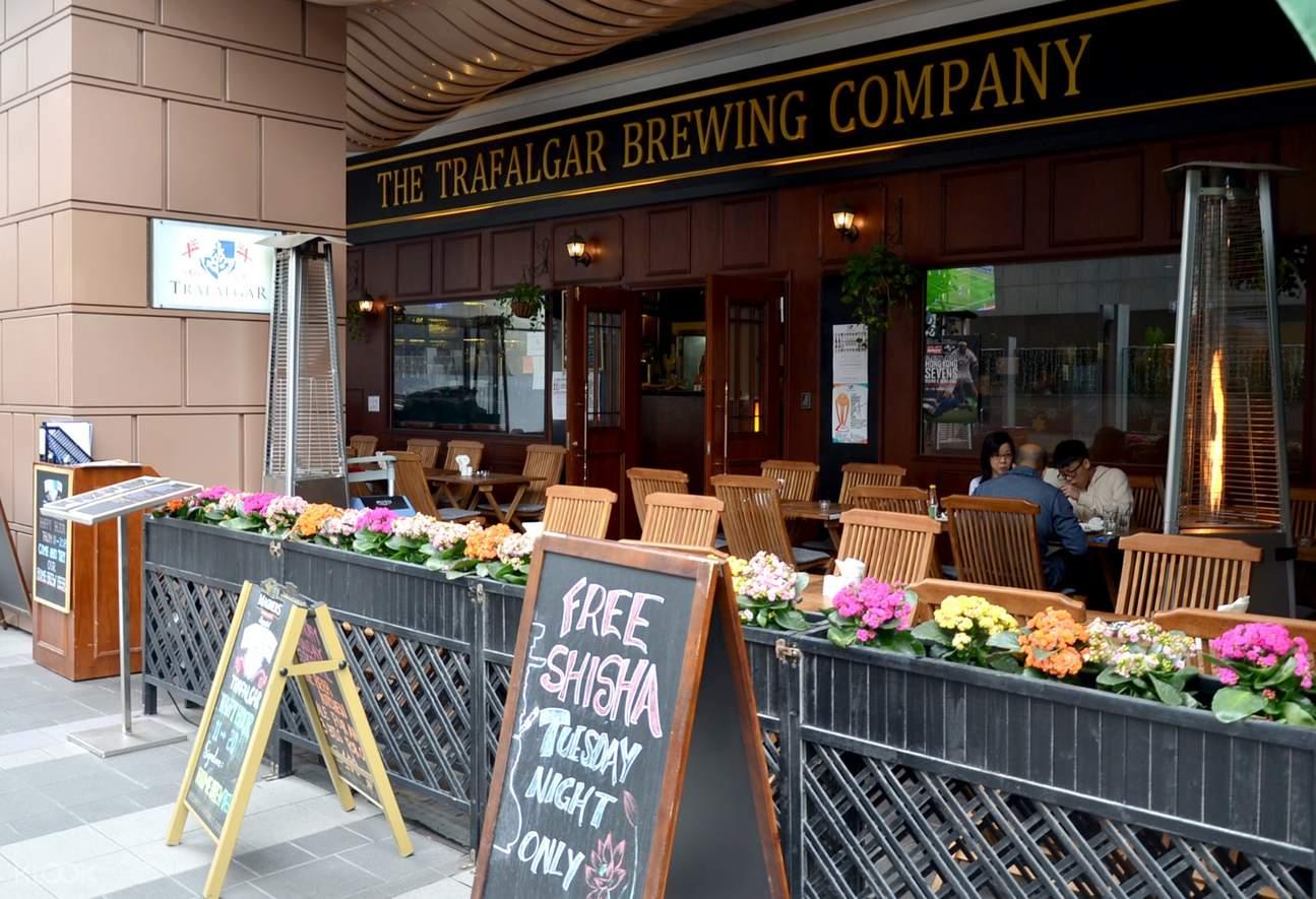the trafalgar brewing company wan chai