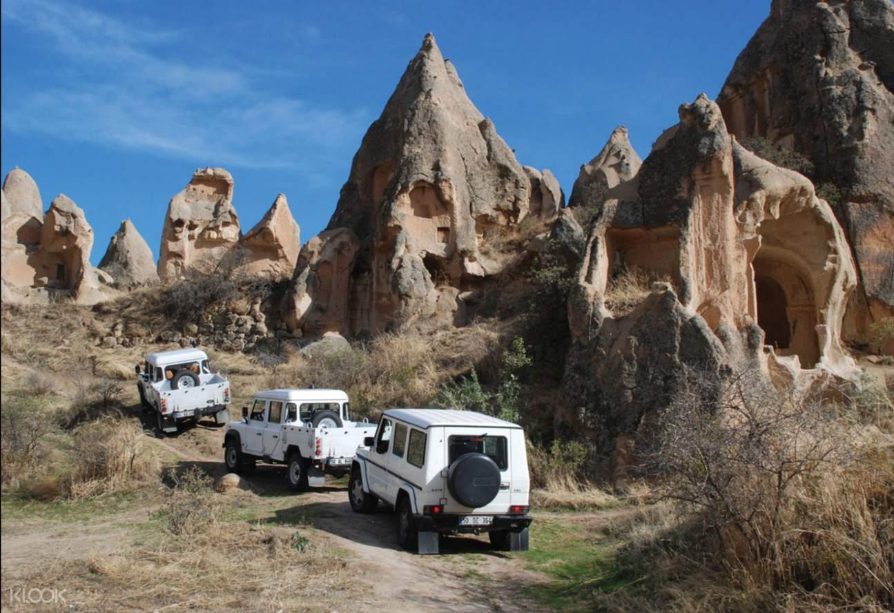 cappadocia with jeeps