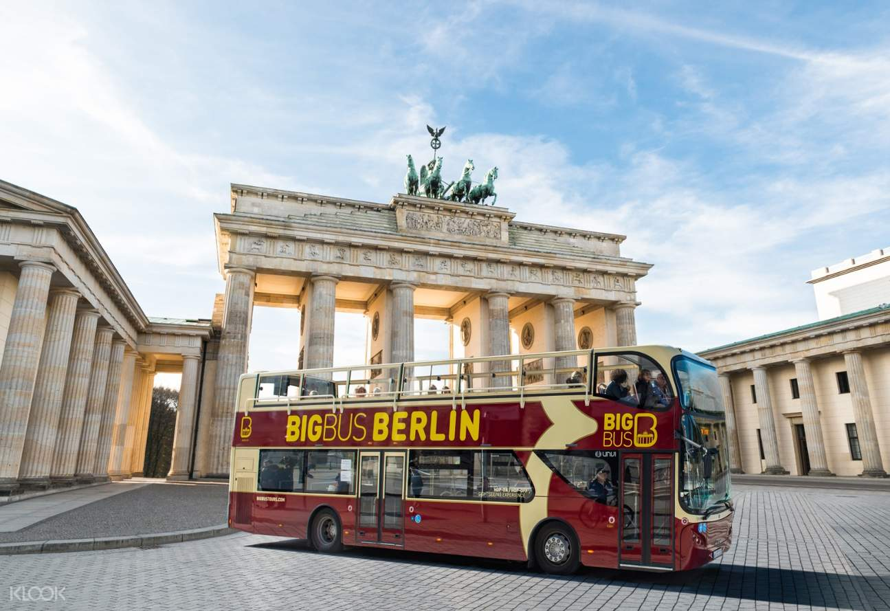berlin big bus hop-on hop-off