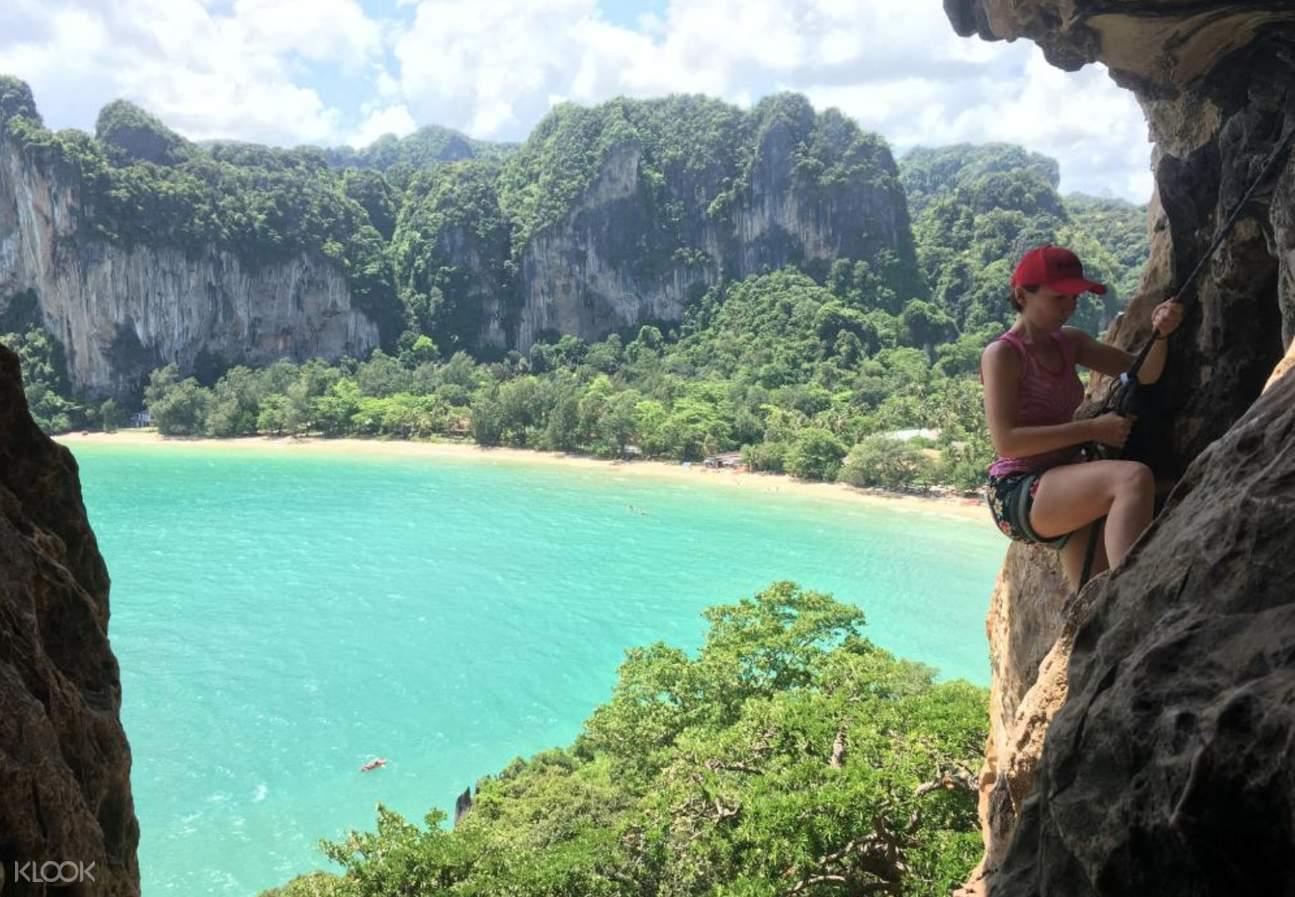 rock climbing thai cooking class krabi