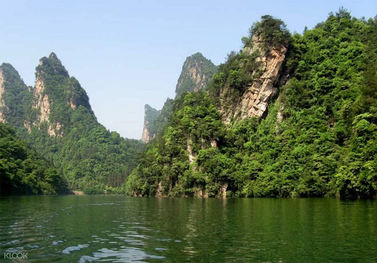 Zhangjiajie grand canyon glass bridge tour