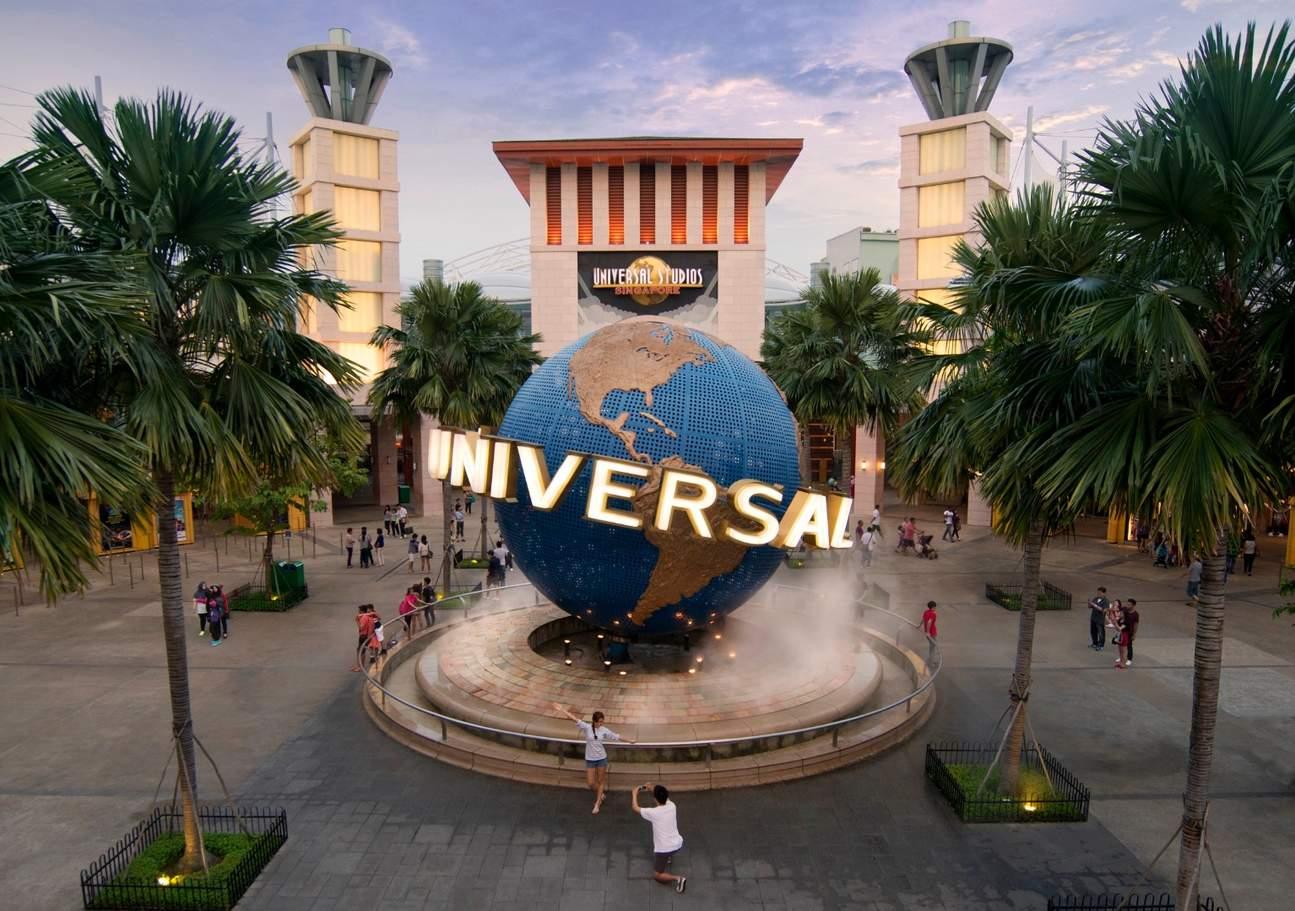 Universal Studios iconic globe