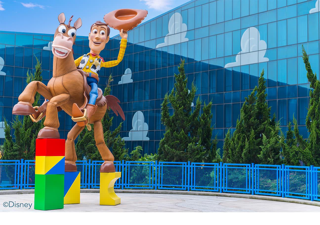 上海迪士尼玩具总动员酒店