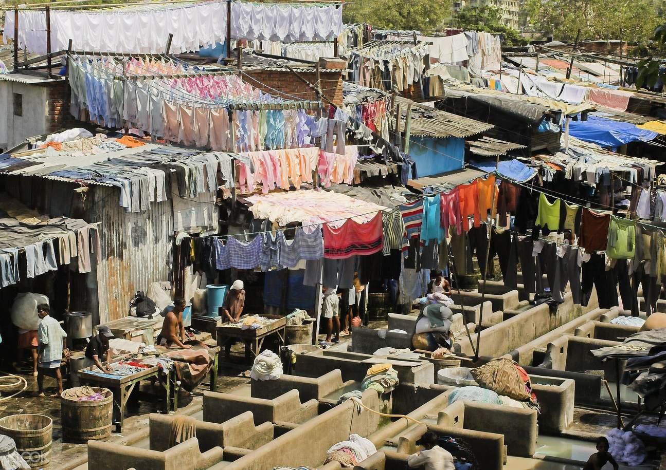 孟买 洗衣厂
