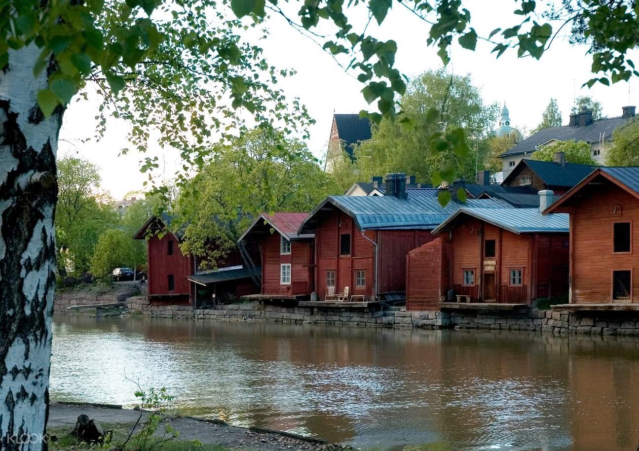 芬兰波尔沃行程