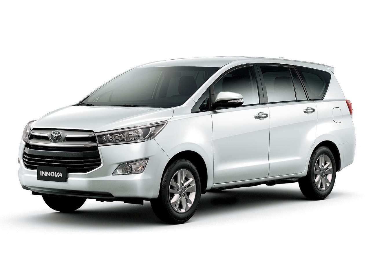 silver toyota innova car transfer