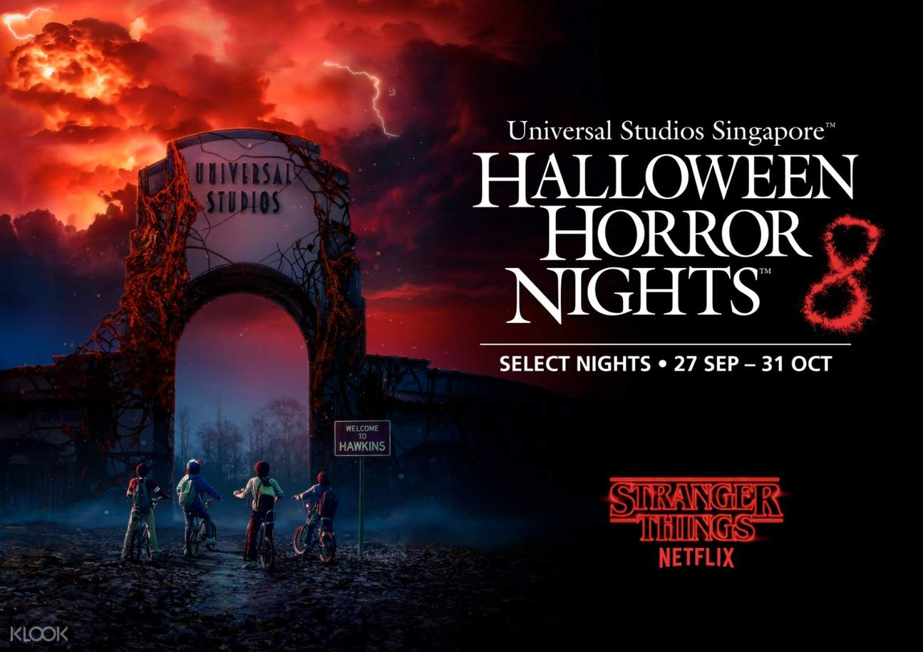 halloween horror nights 8 stranger things