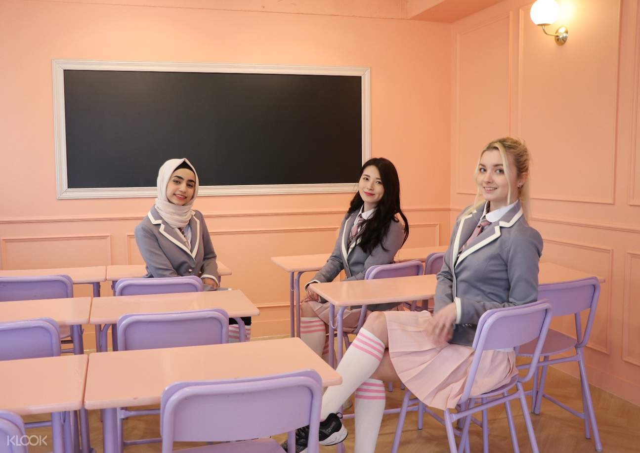 korean school uniform for rent