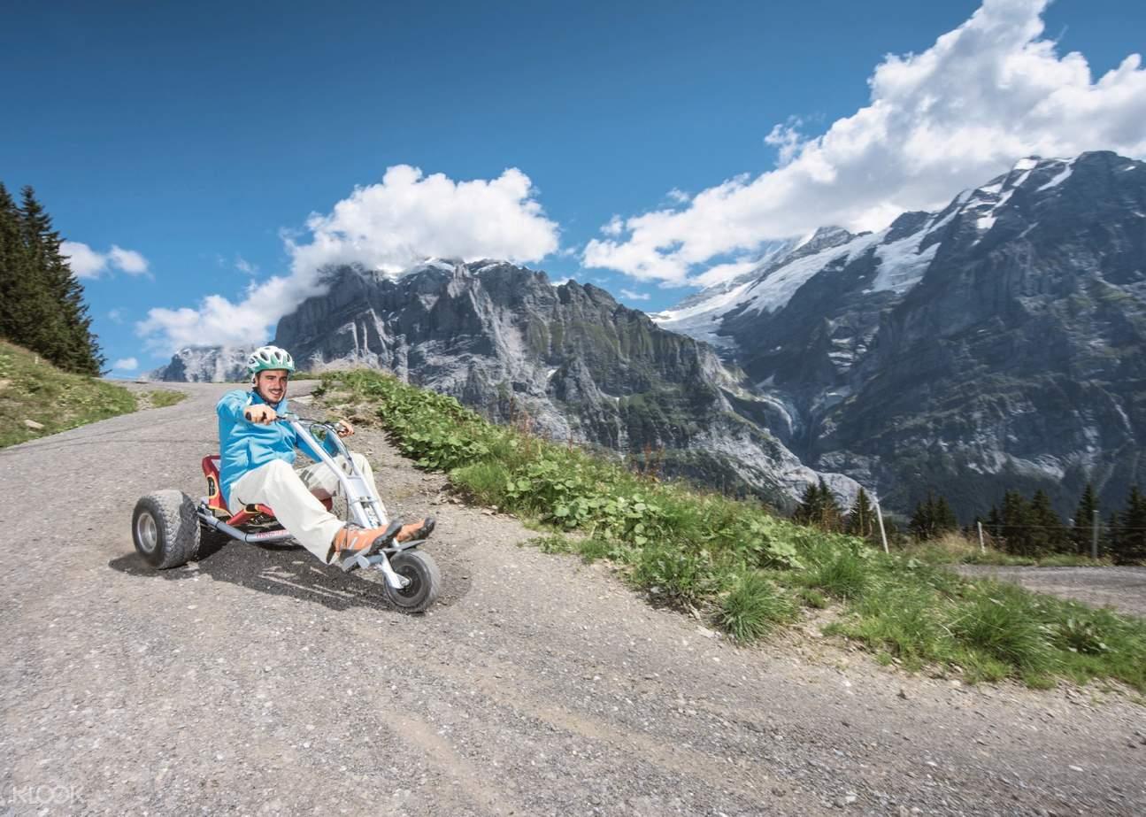 mountain cart ride