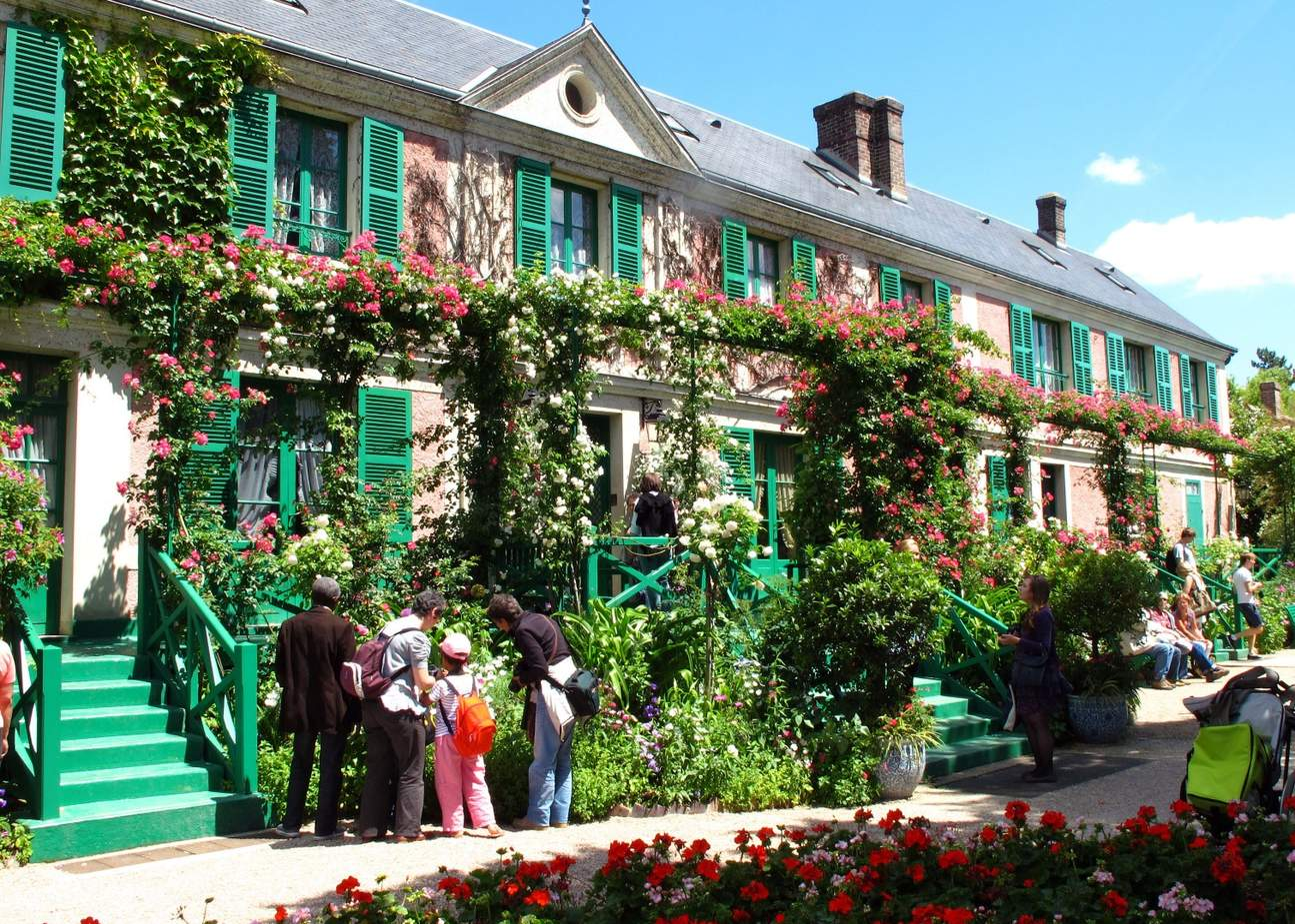 former house of claude monet