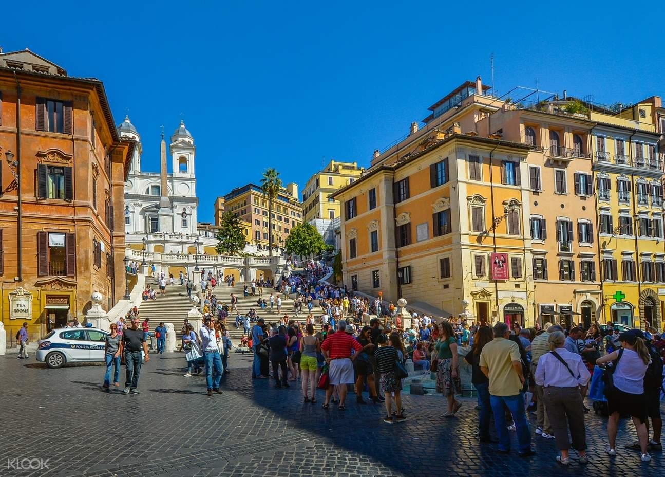 Rome Subway Map To Trevi Fountain Spanish Steps.Cinematic Rome Trevi Fountain And Spanish Steps Walking Tour