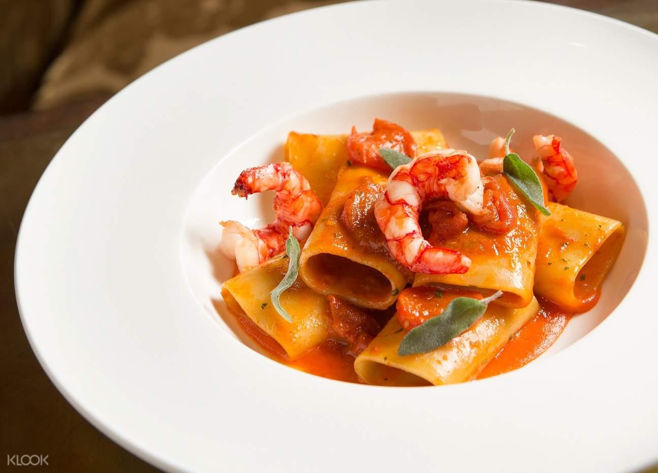 paccheri pasta terrazza italian restaurant galaxy macau