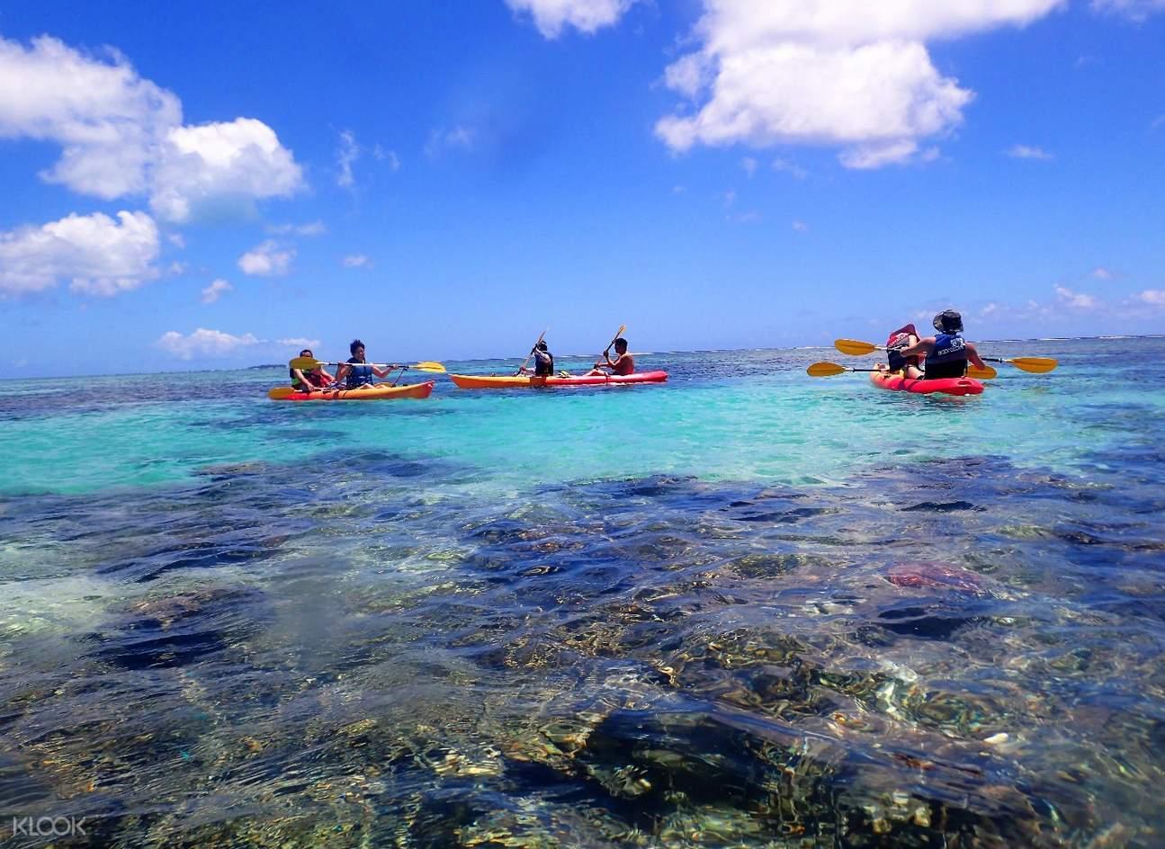 水晶灣皮划艇
