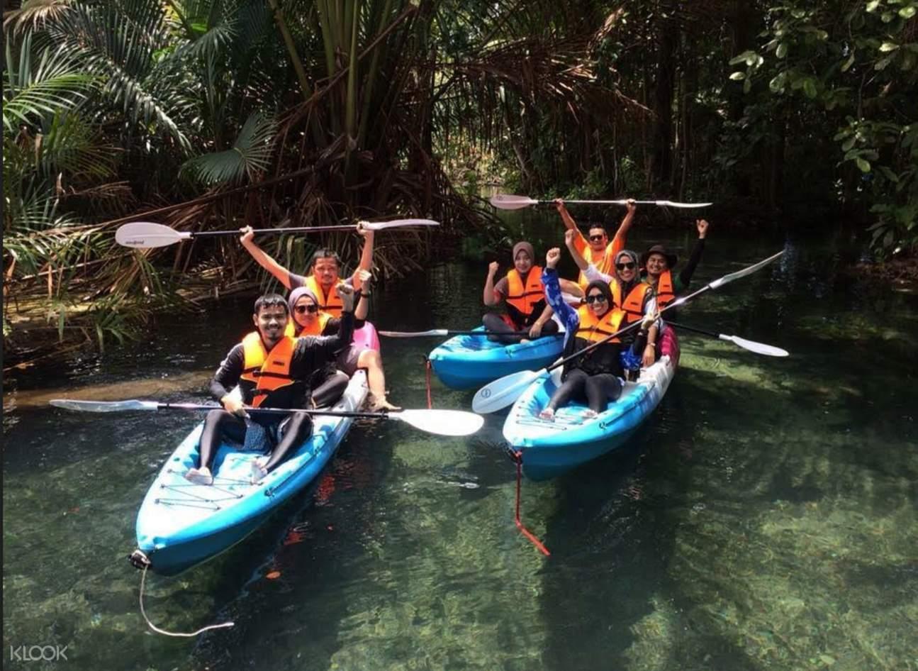 kayaking in krabi thailand, things to do in krabi thailand, water activities in krabi thailand