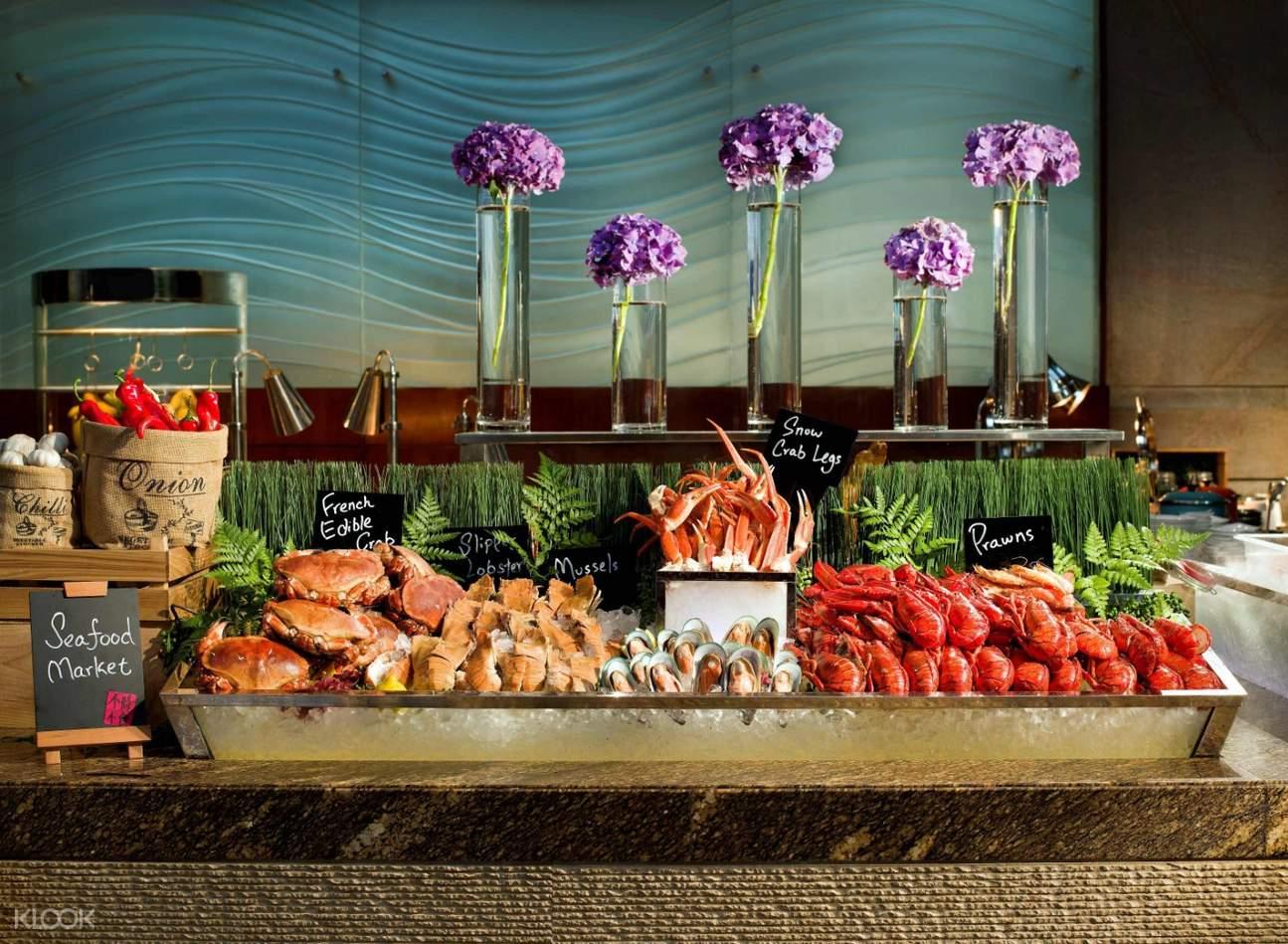 自助晚餐新鮮海鮮