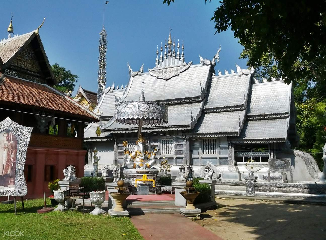 Wat Srisuphan or Silver Temple in Chiang Mai