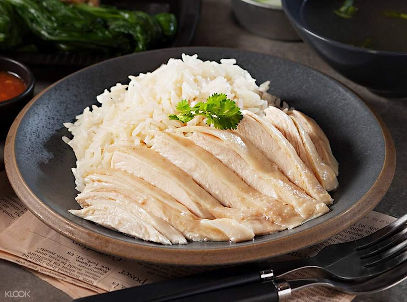 hainanese chicken rice Food Republic Siam Center