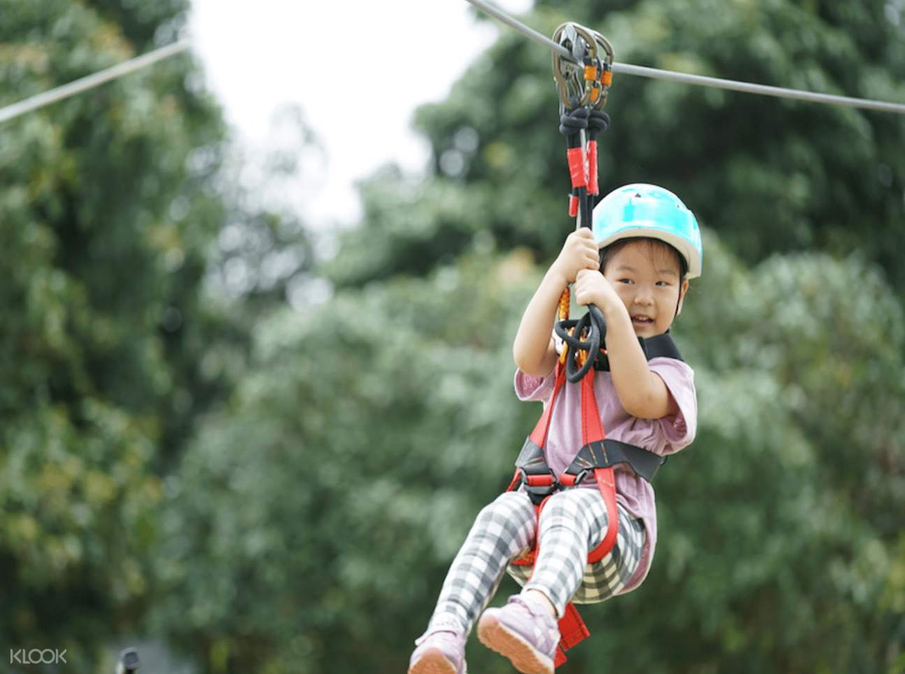 zipline pattaya for kids