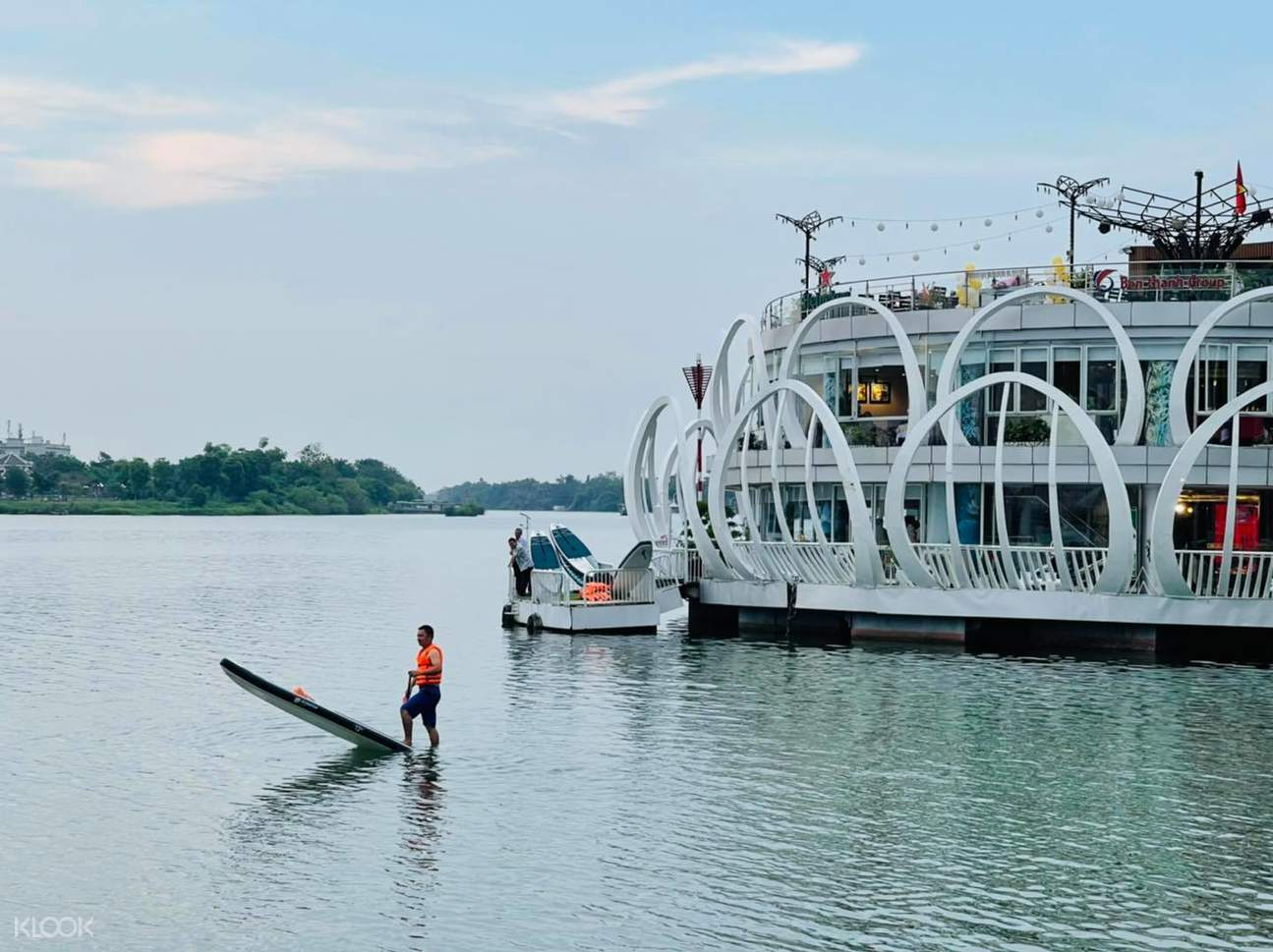 SUP Experience in Perfume River (Huong River - Hue)