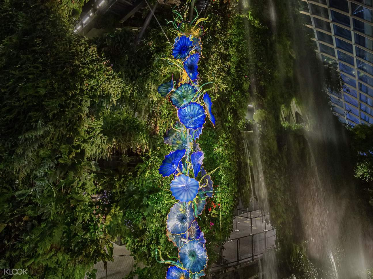 Dale Chihuly cloud forest persians