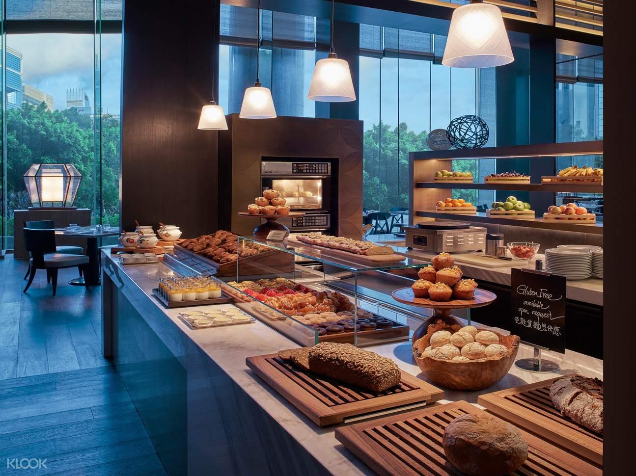 咖啡廳自助早餐 - 糕點