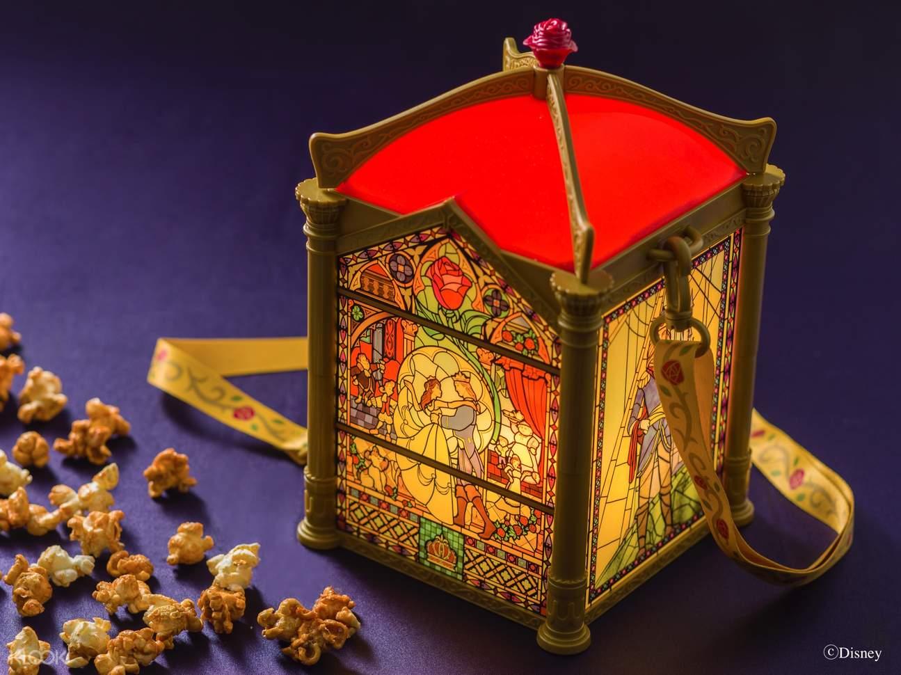 The Beauty and the Beast popcorn bucket
