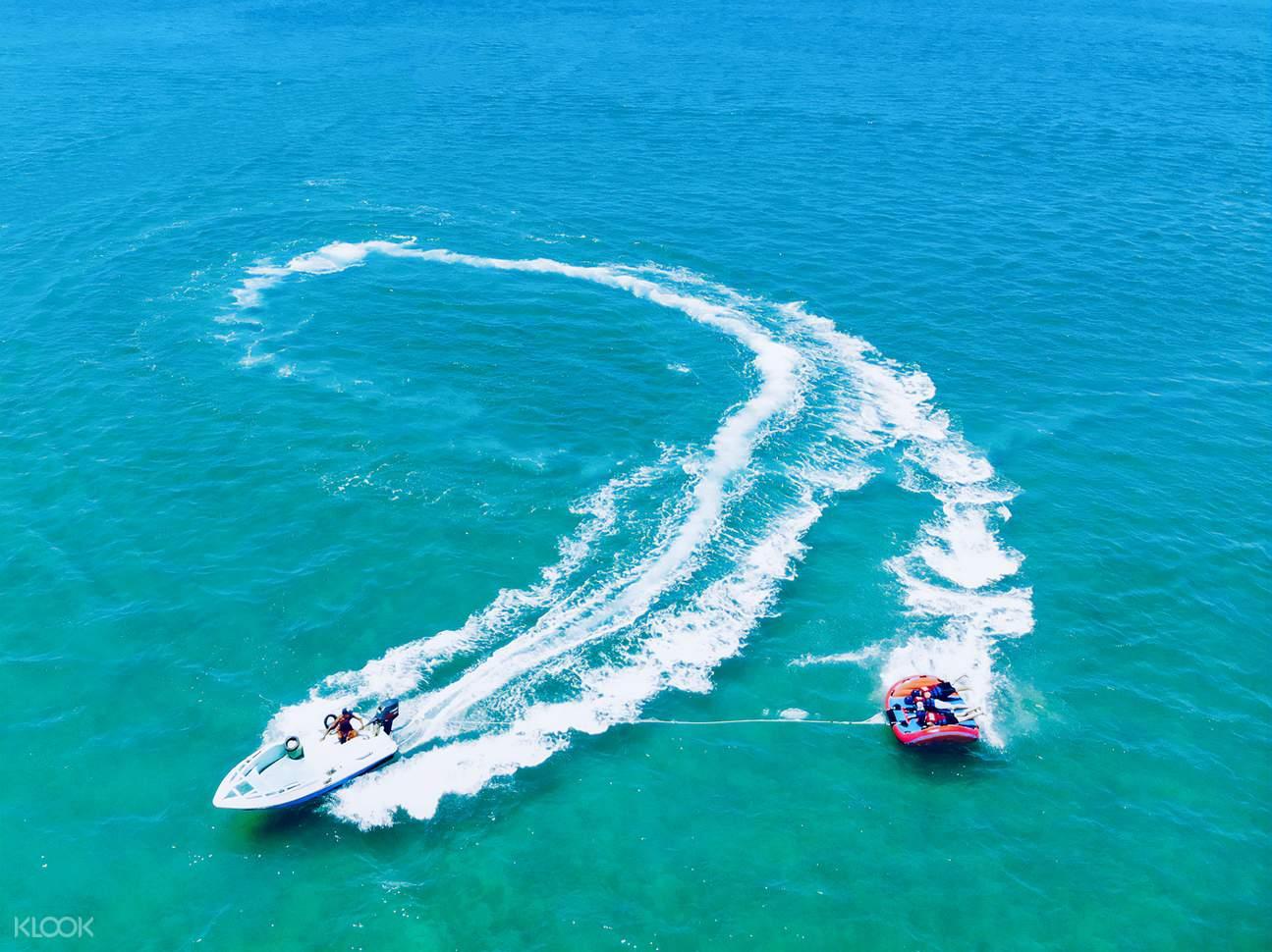 澎湖熱島大倉島一日跳島:秘境浮潛&餵燕鷗&海鮮美食&海上活動體驗五合一