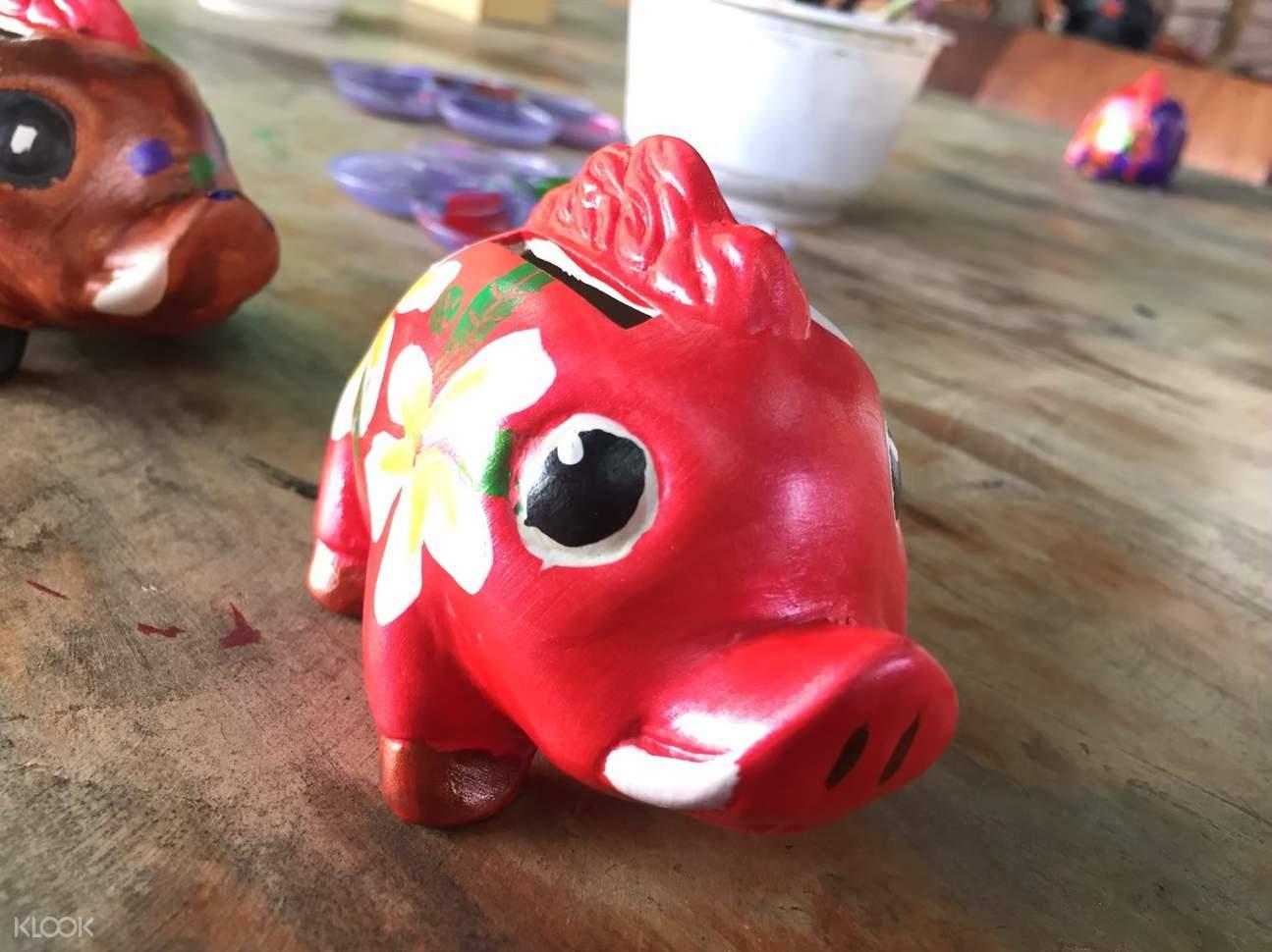 彩繪山豬 DIY
