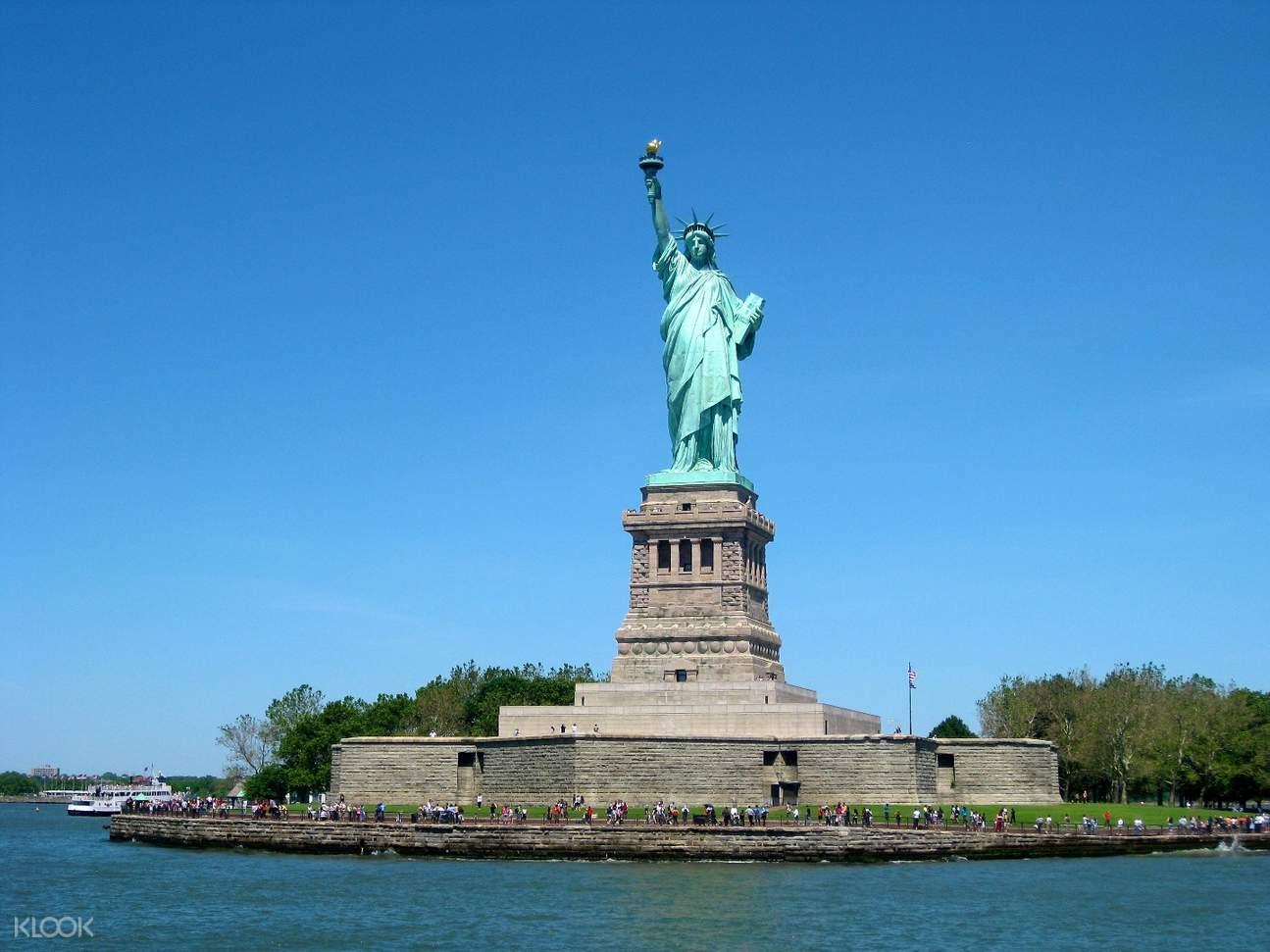 纽约自由女神像观光游船