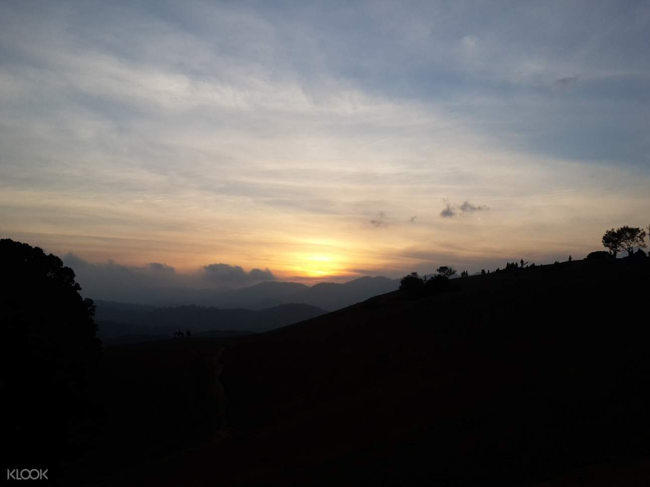 sunset and date night coorg