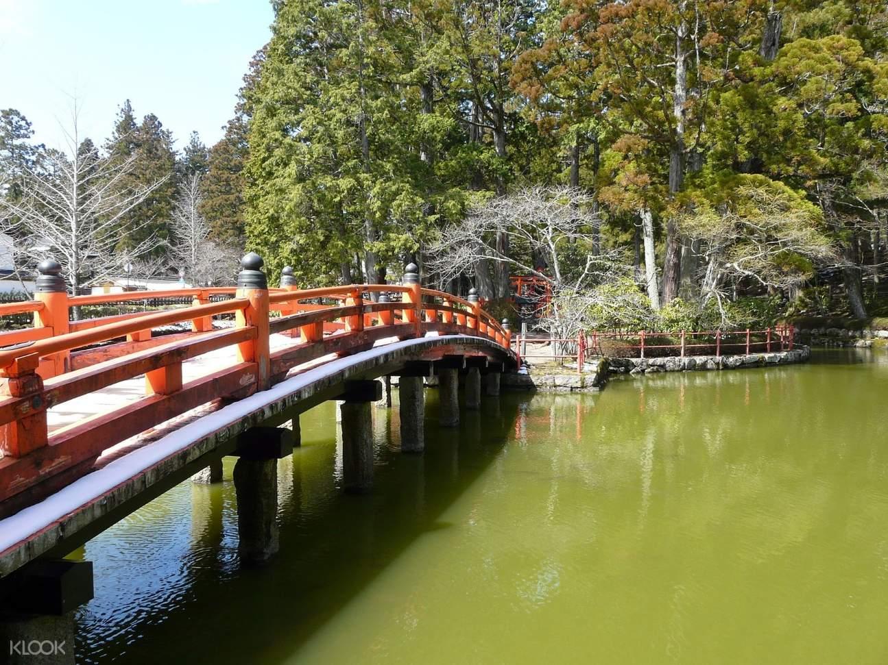 bridge in mount koya