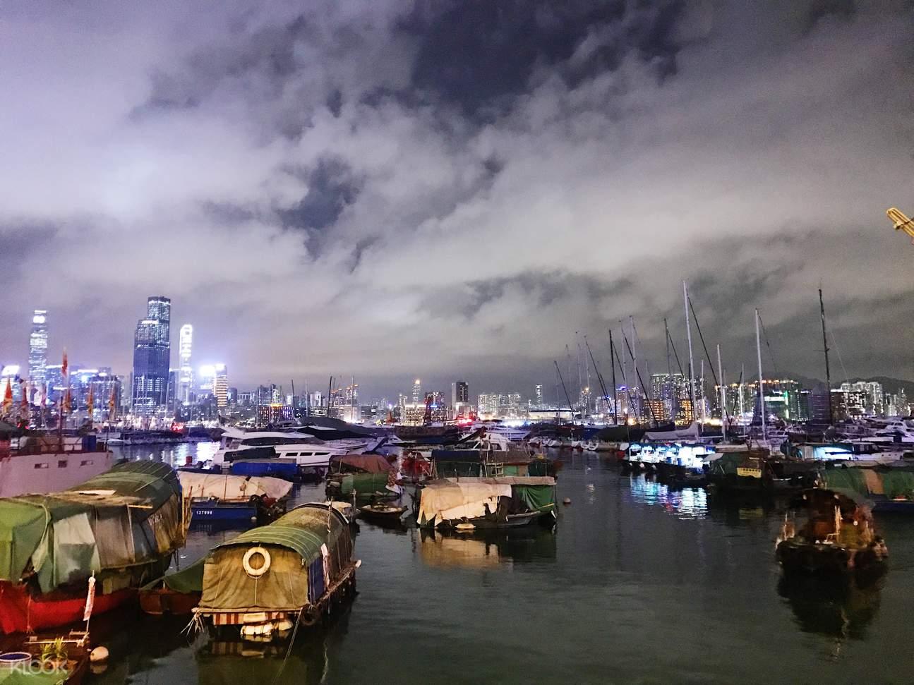 香港海鲜,避风塘海鲜,香港美食,香港打小人,香港传统习俗,香港渔港风情