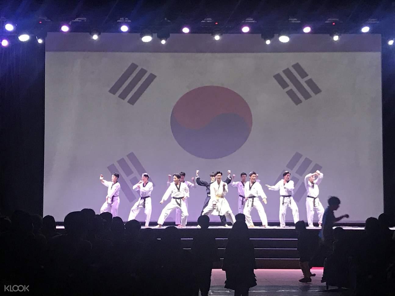 Seoul Kukkiwon Taekwondo Performance