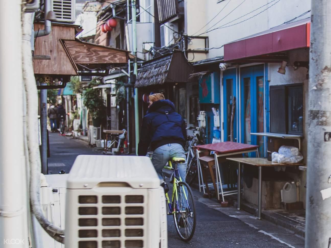 Tokyo West Side Vintage Road Private Bike Tour