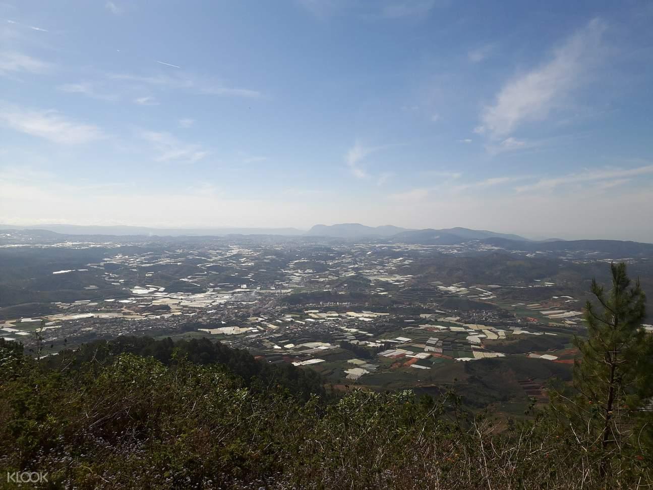 Lang Biang Mountain peak