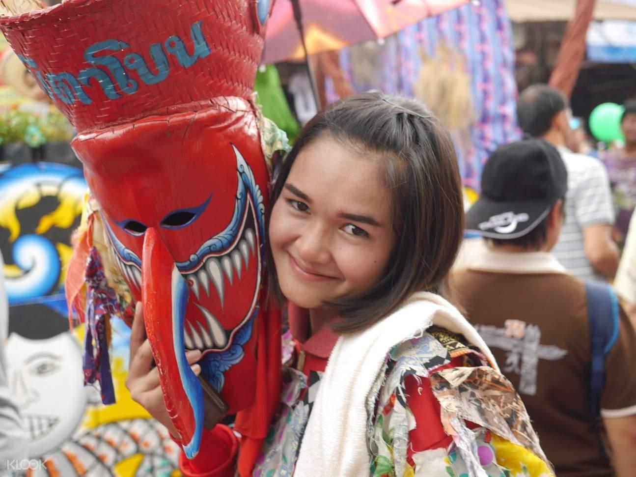 Phi Tha Khon Festival